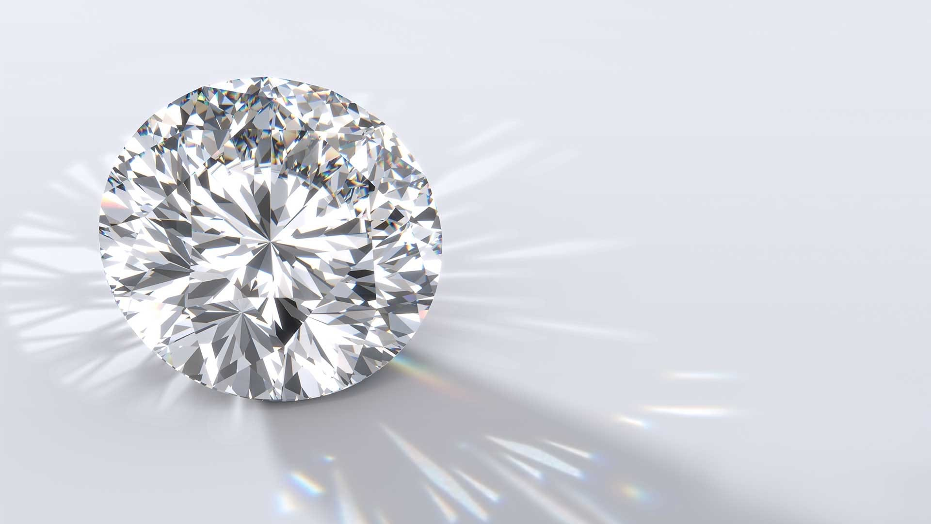round modern brilliant cut diamond
