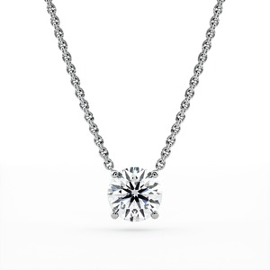Diamond Pendant & Necklace