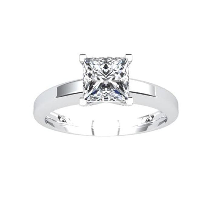 achat Bague  Classique  Diamant or SOLITAIRE PRINCESSE ROYALE