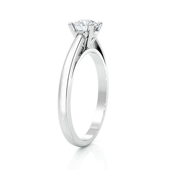 achat Solitaire  Classique  Diamant or 4 Griffes Classic