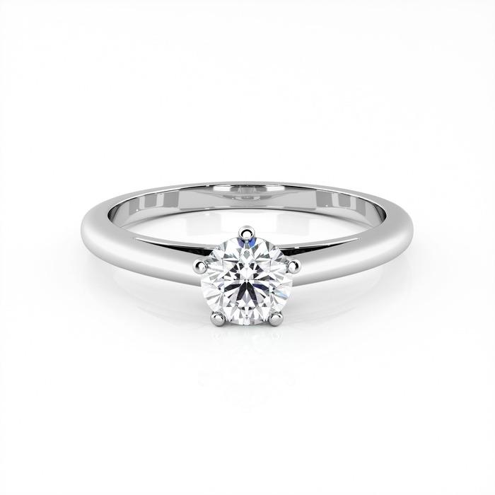 achat Solitaire  Classique  Diamant or 5 Griffes Classic