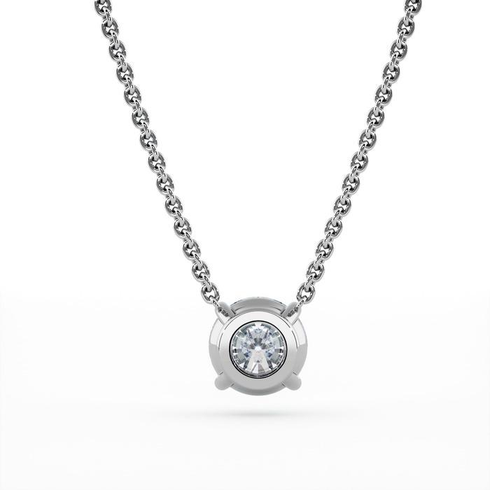 acheter Pendentif Classique  Diamant or 4 GRIFFES sans bélière