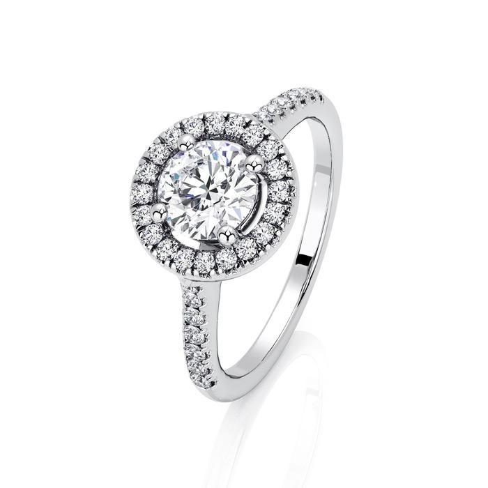 Bague  Classique  Diamant or BRILLANT