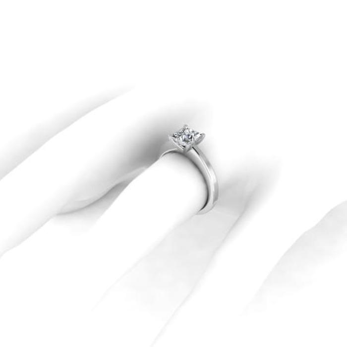 vente Bague  Classique  Diamant or SOLITAIRE PRINCESSE ROYALE